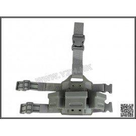 Emerson Ladegerät für Oberschenkelplatten G36 (x3) CQC Schwarz (Emerson) AC-EMBD2270 Soft Pouch