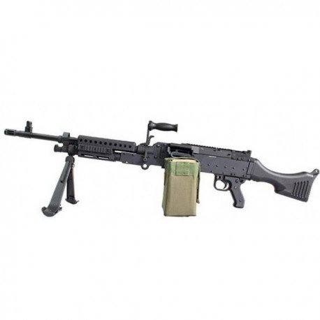 replique-M240 Full Metal (S&T / Jing Gong) -airsoft-RE-JGM240B