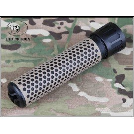 Silencieux 175x30mm Metal QDC Bi-Ton w/ Adaptateur (Emerson)