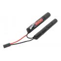 Batterie NiMh 9,6v Double 1600 mAh (Swiss Arms 603245)
