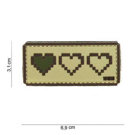 101 INC Patch 3D PVC Derniere Vie Desert (101 Inc) AC-WP4441003865 Patch en PVC