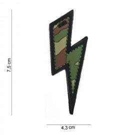Parche de PVC Eclair Multicam (101 Inc)