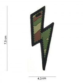 Patch 3D PVC Eclair Multicam (101 Inc)
