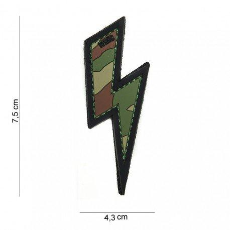 101 INC Patch 3D PVC Eclair Multicam (101 Inc) AC-WP4441003917 Patch en PVC