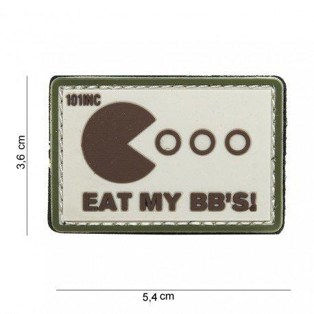 101 INC Patch 3D PVC Eat My BB's Desert (101 Inc) AC-WP4441003938 Patch en PVC