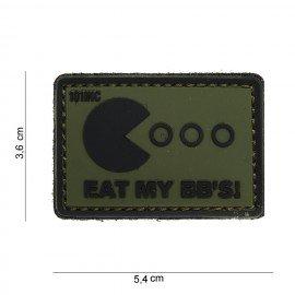 PVC-Patch Essen Sie meine BB OD (101 Inc)