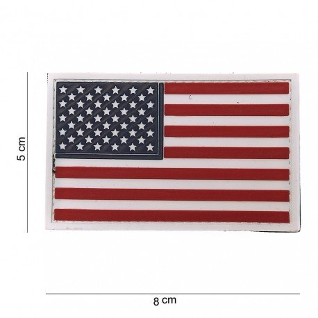 101 INC Patch 3D PVC USA Officiel (101 Inc) AC-WP4441103519 Patch en PVC