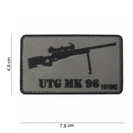 101 INC Patch 3D PVC L96 / MK96 (101 Inc) AC-WP4441303754 Patch en PVC