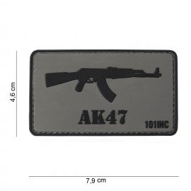 Patch 3D PVC AK47 (101 Inc)