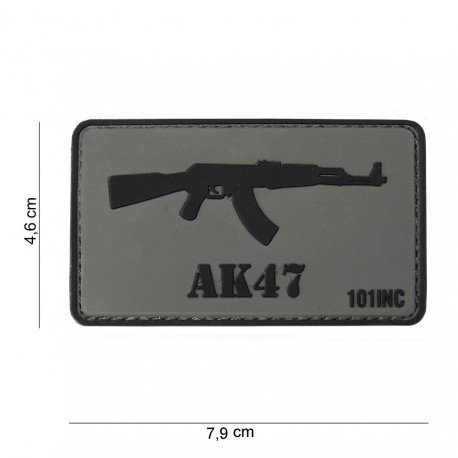 101 INC Patch 3D PVC AK47 (101 Inc) AC-WP4441303763 Patch en PVC