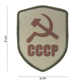 Patch 3D PVC CCCP Desert (101 Inc)