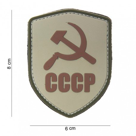 101 INC Patch 3D PVC CCCP Desert (101 Inc) AC-WP4441303793 Patch en PVC