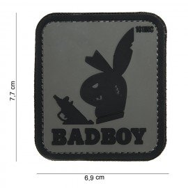 Patch 3D PVC Bad Boy Gris (101 Inc)
