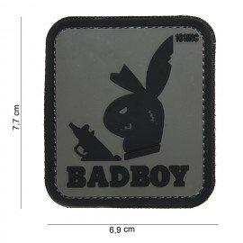 101 INC Patch 3D PVC Bad Boy Gris (101 Inc) AC-WP4441303884 Patch en PVC