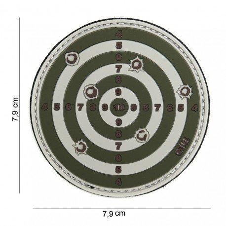 101 INC Patch 3D PVC Cible OD (101 Inc) AC-WP4441303890 Patch en PVC