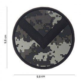 Parche ACU Spartan Shield de PVC 3D (101 Inc)