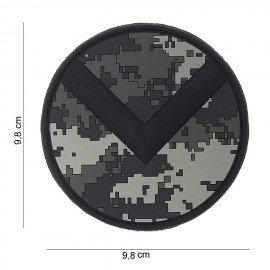 Spartanischer 3D-PVC-ACU-Patch (101 Inc)