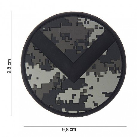 101 INC Patch 3D PVC Spartan Shield ACU (101 Inc) AC-WP4441803828 Patch en PVC