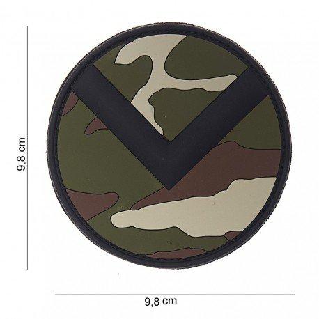 101 INC Patch 3D PVC Spartan Shield Woodland (101 Inc) AC-WP4441803830 Patch en PVC