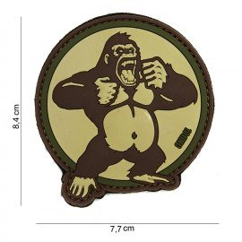101 INC STOP 3D PVC Patch King Kong Desert AC-WP4441803873 Features