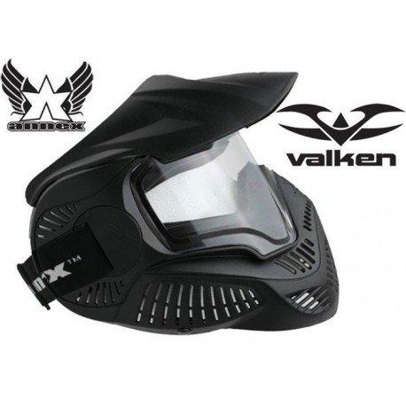 Valken Valken Casque Thermal MI-7 Noir AC-VKV353136 Masque intégral