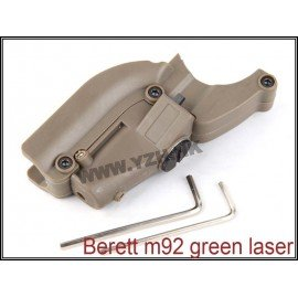 Green Laser M9 Compact Black (Emerson)
