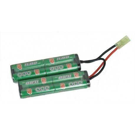 ICS Batterie Nimh 9,6v Twin 1500 mAh (ICS MC-135) AC-ICMC135 Batterie NiMh 9,6v
