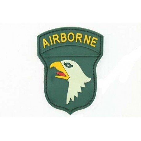 Patch 3D PVC Airborne 100st Couleur (101 Inc) AC-TAG1295 Patch en PVC