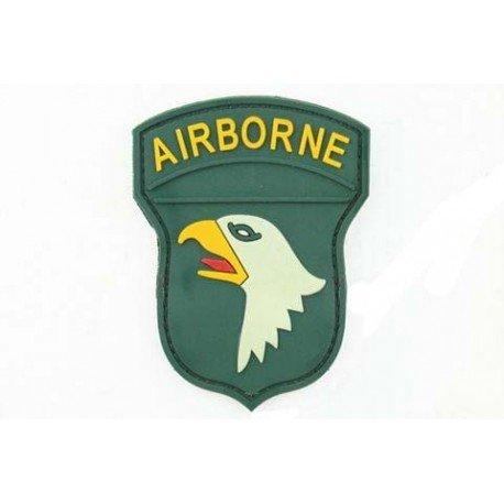 Patch 3D PVC Airborne 100st Couleur (101 Inc) AC-TAG1295 Patch en PVC