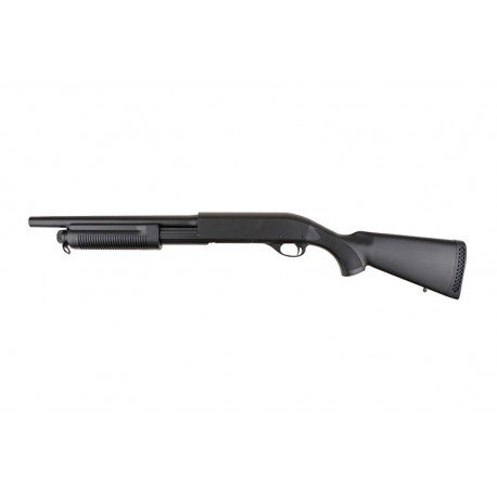 replique-Fusil Pompe M870 Crosse Pleine Police Burst-3 Billes (Cyma) -airsoft-RE-CMCM350/ST00065