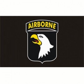 Bandiera 101 ° div Airborne 150x100 cm