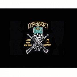 Bandera de los Rangers de Estados Unidos 150x100 cm.