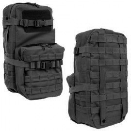 101 INC Bag 30L: Assault Molle MBSS Black (101 Inc) AC-WP351606BK Bag and Case