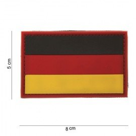 101 INC 3D PVC Patch Germany (101 Inc) AC-WP4441103514 PVC Patch