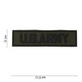 Patch 3D PVC US Army OD (101 Inc)