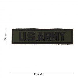 US Army OD 3D PVC Patch (101 Inc)