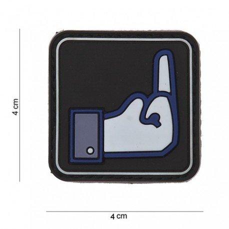 101 INC Patch 3D PVC Fuck Facebook (101 Inc) AC-WP4441203558 Patch en PVC