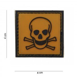 101 INC 3D Toxic PVC Patch (101 Inc) AC-WP4441203593 PVC Patch