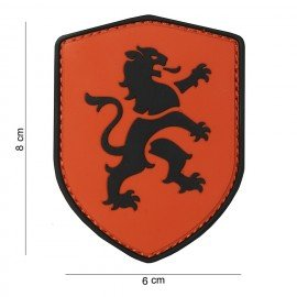 Patch 3D PVC Orange Lion (101 Inc)