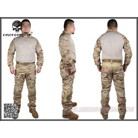 Emerson Uniforme Combat Set Gen2 Multicam Arid (Emerson) HA-EMEM6970 Uniformes