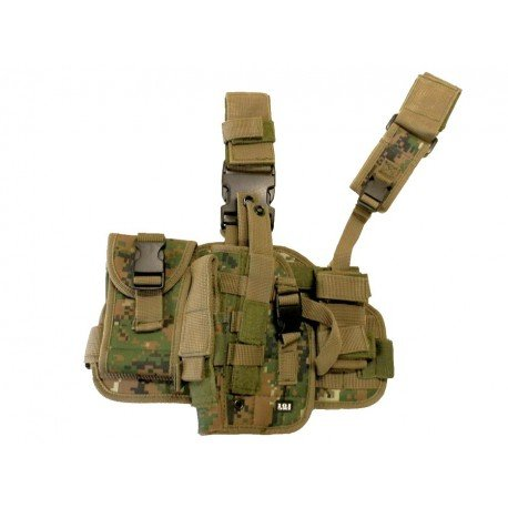 101 INC Holster Cuisse Marpat Gaucher (101 Inc) AC-WP355461MP Holster