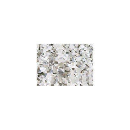 101 INC Filet Camouflage Blanc / mètre (Camo System) AC-WP469265WH Camouflage