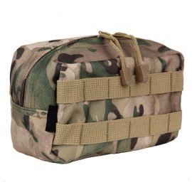 101 INC Horizontal Utility Pocket Multicam (101 Inc) AC-WP359890TM Soft Pouch