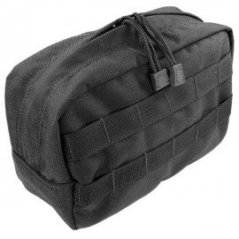 101 INC Horizontal Utility Pouch Black (101 Inc) AC-WP359890BK Soft Pouch