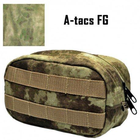 101 INC Poche Utilitaire Horizontale A-Tacs FG (101 Inc) AC-WP359890AFG Poche Molle
