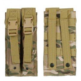 101 INC Pocket MP5-Ladegerät (x2) Multicam mit Klappen (101 Inc.) AC-WP359860MC Merkmale