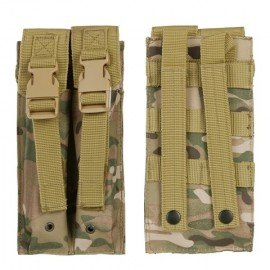 101 INC Poche Chargeur MP5 (x2) Multicam w/ Rabats (101 Inc) AC-WP359860MC Equipements