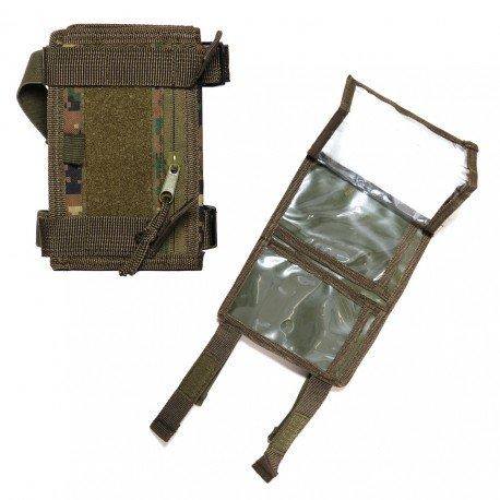 101 INC Poche Poignée / Porte Document Marpat (101 Inc) AC-WP359816MP Poche Molle
