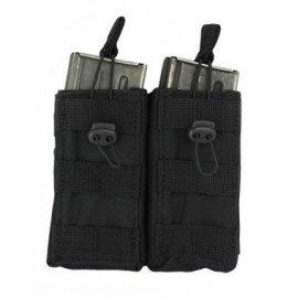 Caricabatterie tasca M4 (x2) Nero EL (101 Inc)