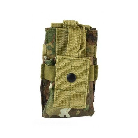 101 INC Poche Radio PMR Multicam (101 Inc) AC-WP359820MC Poche Molle